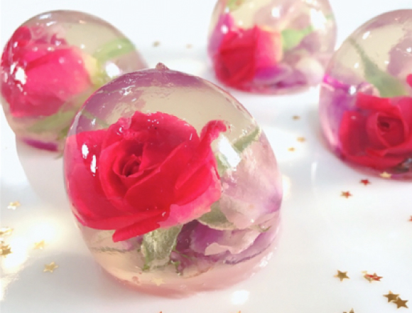 A recipe for photogenic food #8 Flower Jelly