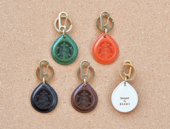 Starbucks X BEAMS Collaboration ー Where Digital Meets Craft. Pay For Drinks  Easier With The Fashionable Keyring U201cSTARBUCKS TOUCH The Dripu201d