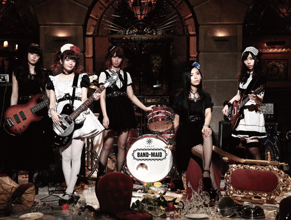 BAND-MAID opens official online goods store for foreign fans