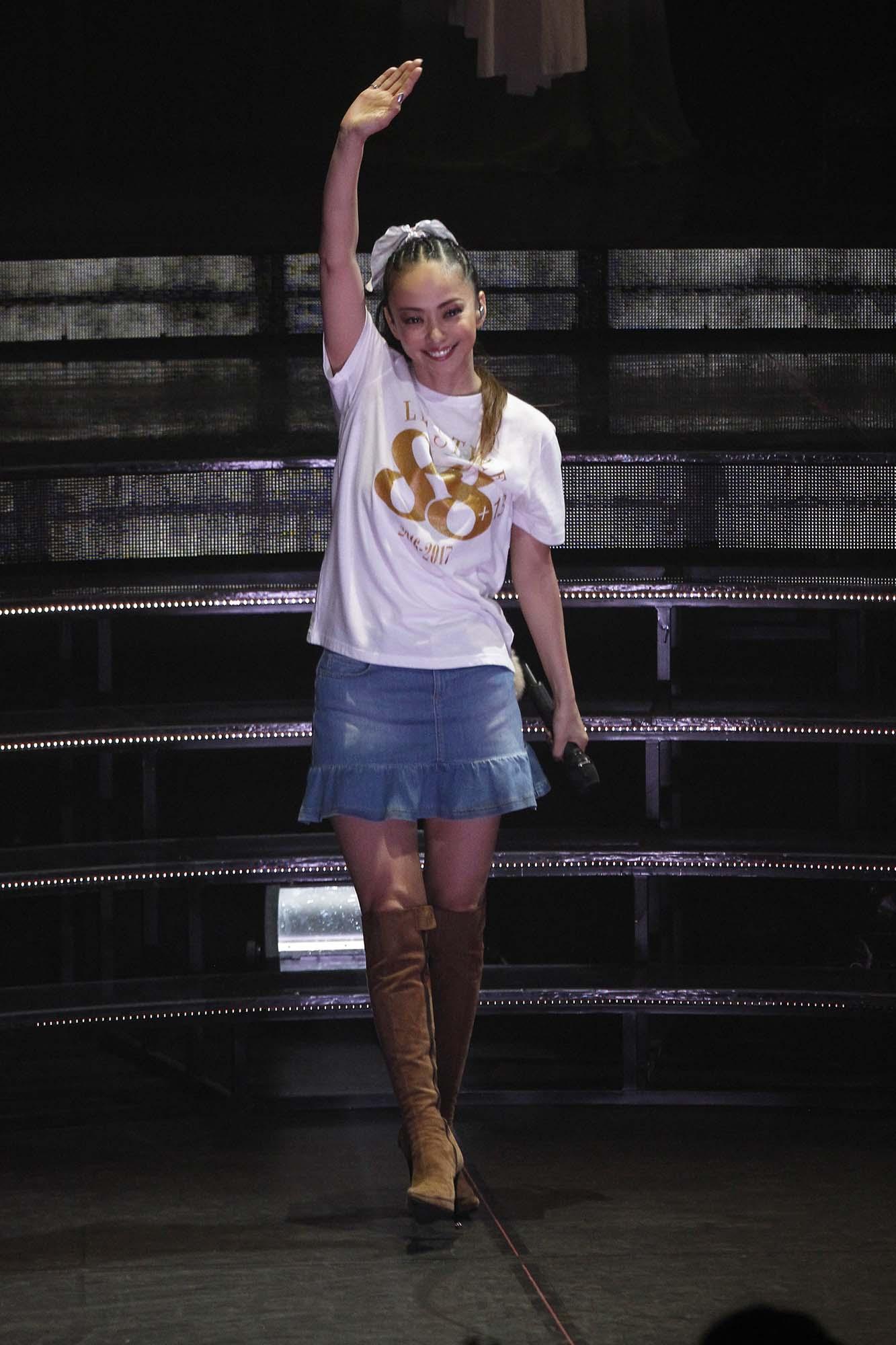 """Namie Amuro finished her """"biggest"""" 100-concert national ..."""