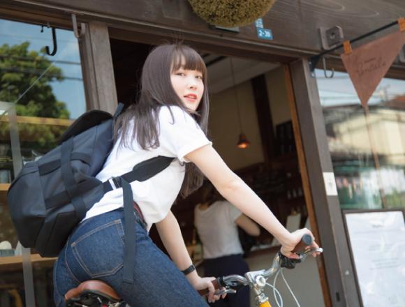 柴田ひかりサイクリング