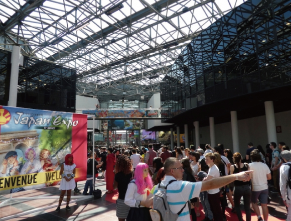Evangelion pok mon yowamushi pedal and much more at japan expo paris 2017 find out more about - Japan expo paris 2017 ...