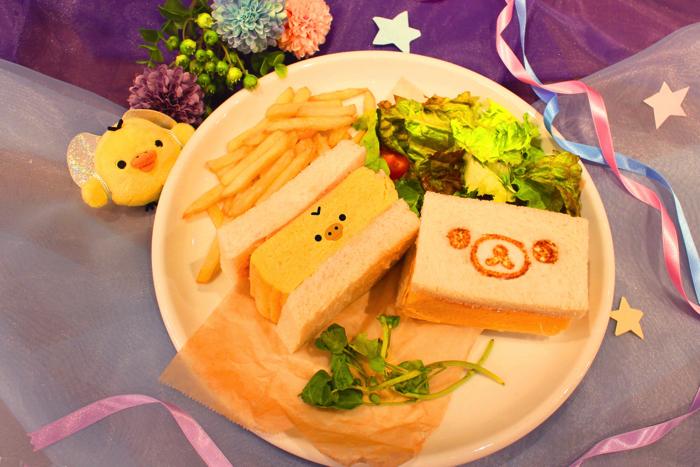 厚焼き玉子サンド【マグ付】