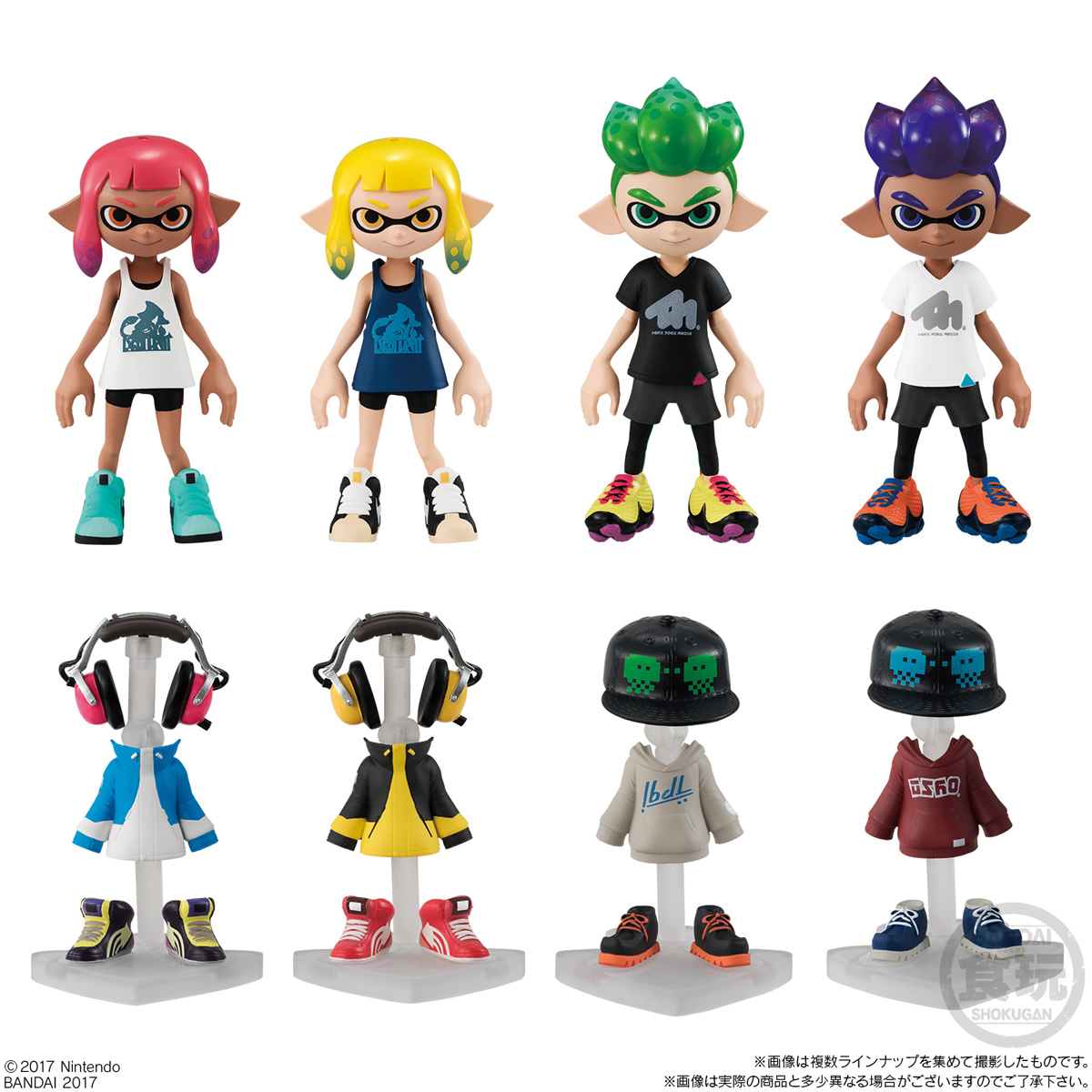 Let S Dress Up The Squid Characters From Splatoon 2