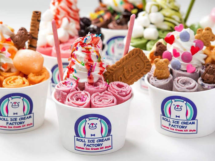 First Shop Debuts In Kansai Roll Ice Cream Factory Opens