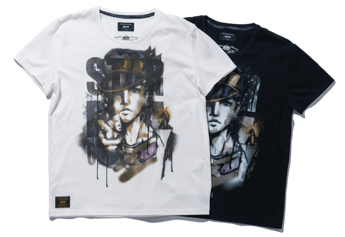Jojo's Bizarre Adventure Teams Up With Street Fashion Label