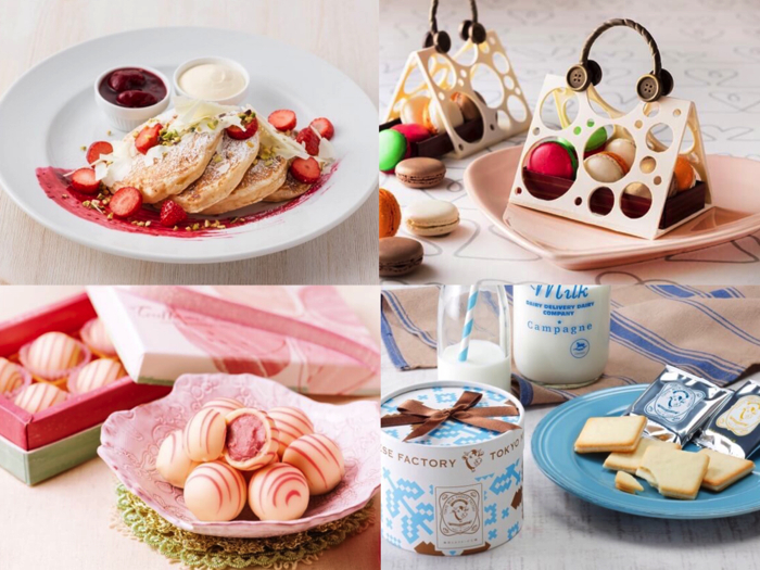 Sweets, white day