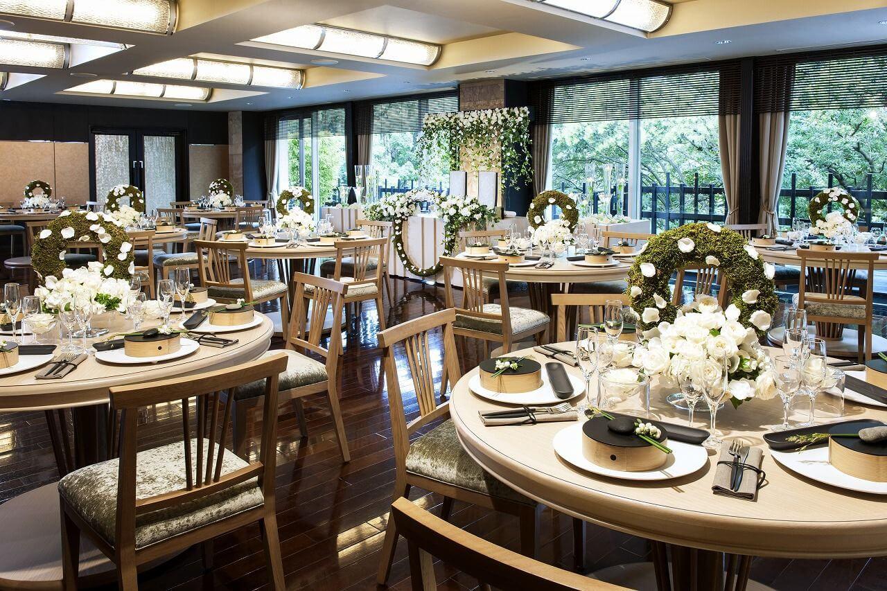 日本庭園でお花見が楽しめるレストラン『神楽』原宿2