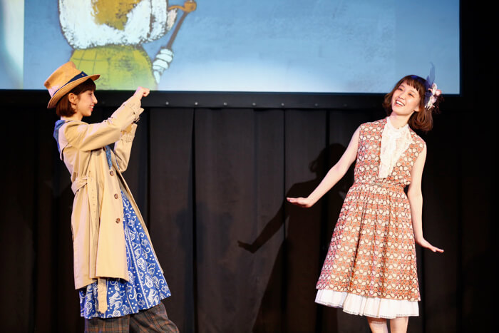 【MOSHI FES 2018/Laforet】三戶夏芽首度策劃的時裝秀「跳躍吧!繪本秀〜三戶夏芽,朗讀給你聽。〜」