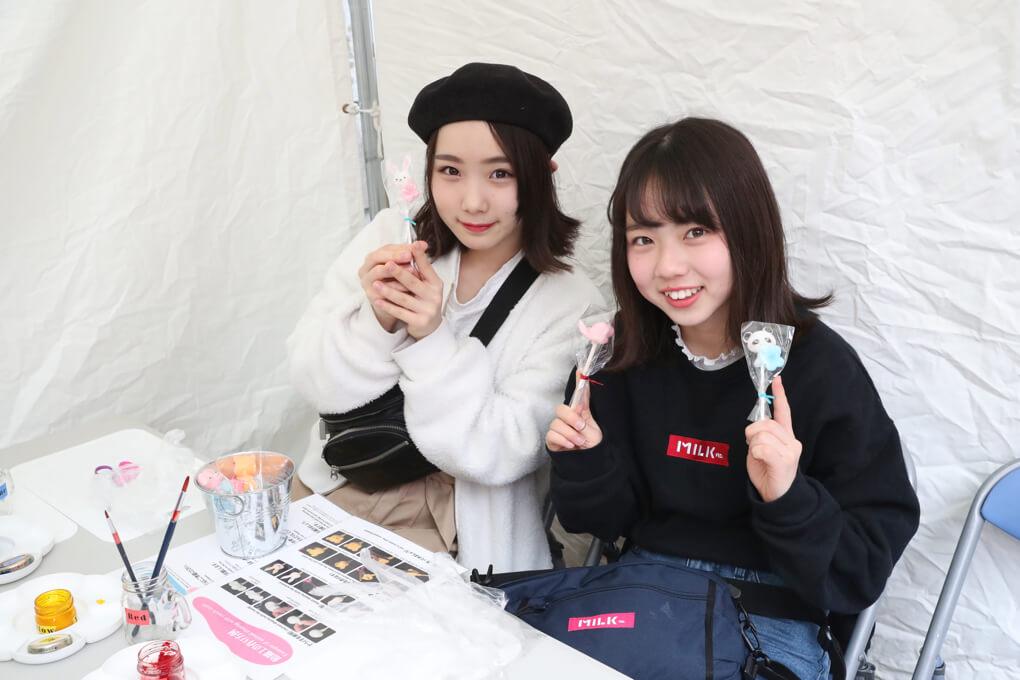 飴細工ワークショップ もしもしにっぽん 穏田神社
