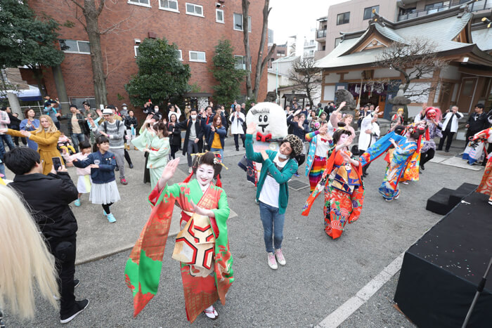O_24日夢乃屋 孝藤右近 創作日本舞踊ショー_盆踊り3