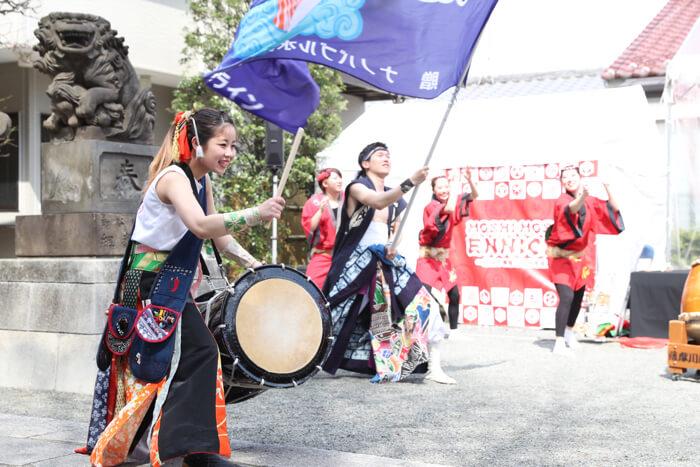 O_24日薩摩川内踊り太鼓_創作舞踊集団寳舟1