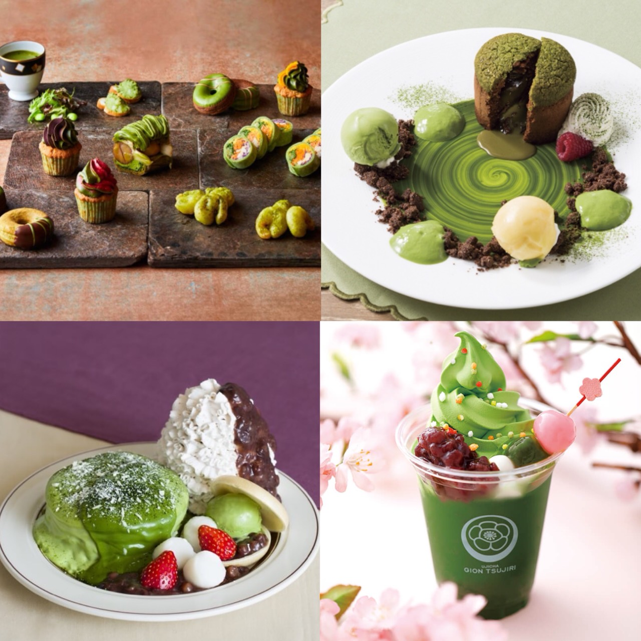 Top 6 Spring Only Matcha Sweets for 2018