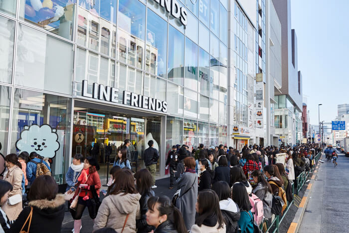 LINE FRIENDS flagship store in Harajuku (ライン・フレンズ・フラッグシップ・ストア in 原宿)