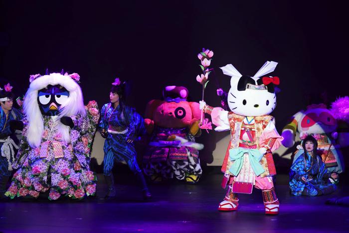 "HELLO KITTY will challenge Kabuki! Sanrio Puroland's ""KAWAII KABUKI"""