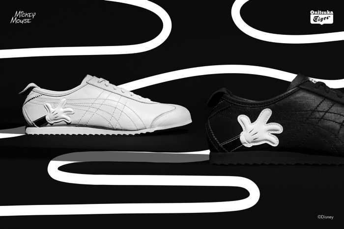 Onitsuka Tiger × Mickey & Minnie Mouse Collaborative Shoes