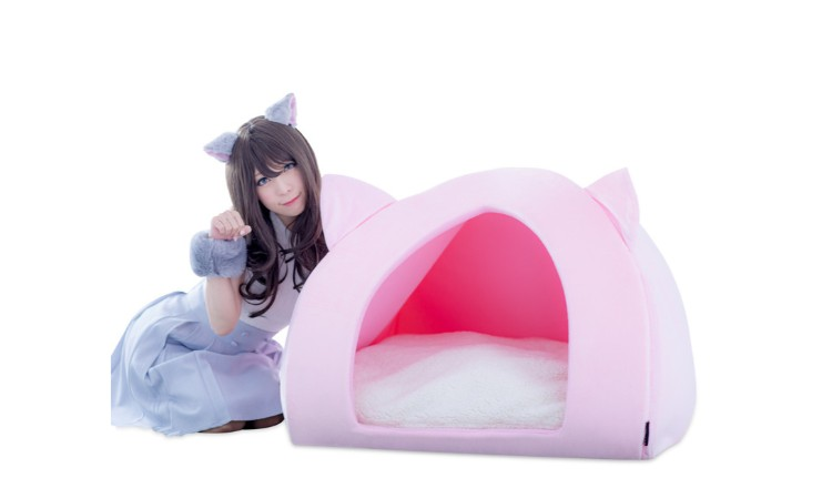 Relax Just Like a Cat in the New Human-Sized Pet House from Bibi Lab