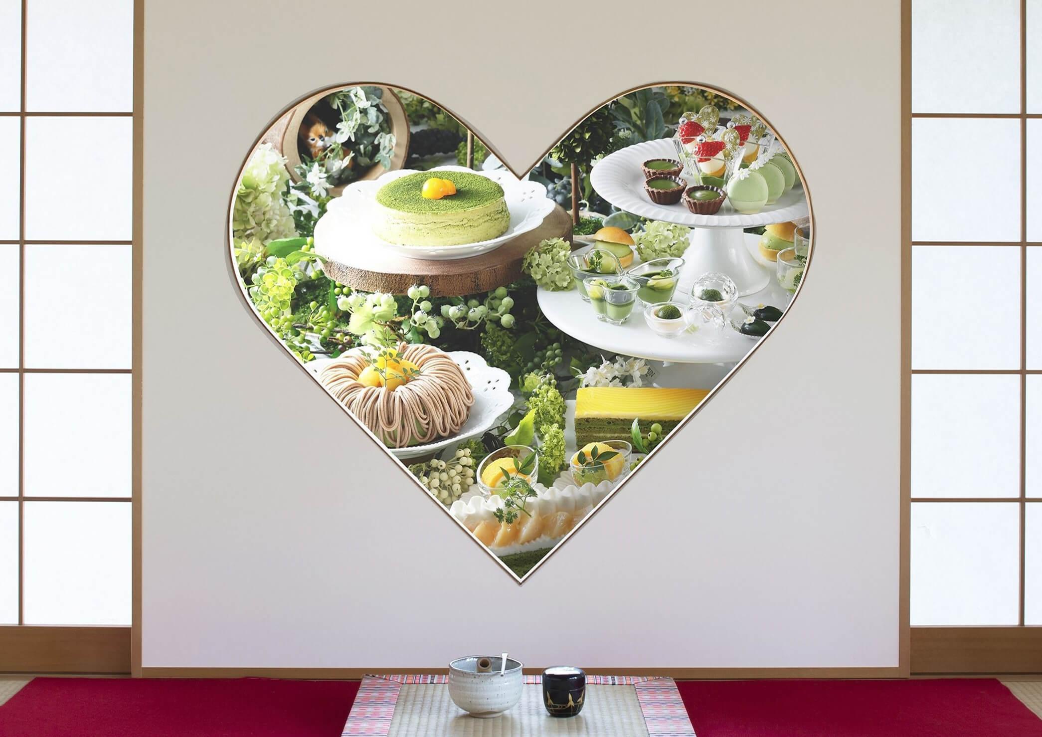 祇園辻利の宇治抹茶を使用したスイーツ!抹茶スイーツブッフェ京都で開催