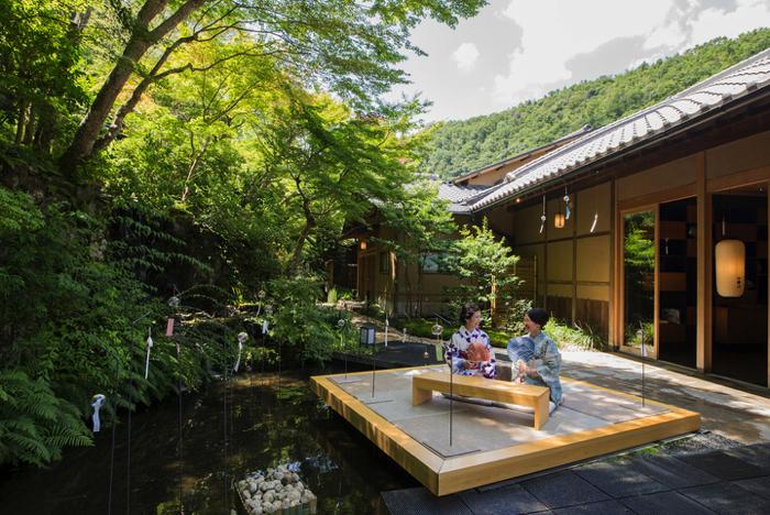 星のや京都「奥嵐山の納涼滞在」
