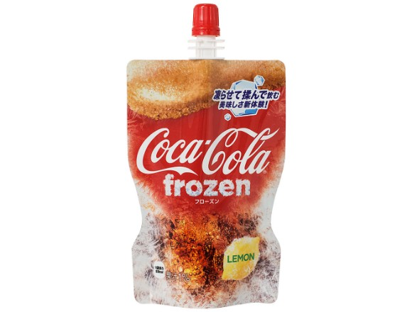 Coca Cola Debuts Frozen Lemon Drink