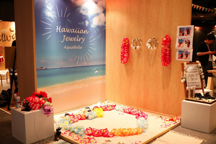 もしフェス Hawaiianjewelry Aquabelle
