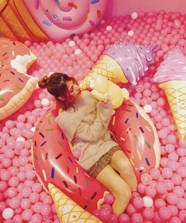 フォトジェニックアート展「東京アイスクリームランド」 横浜みなとみらい