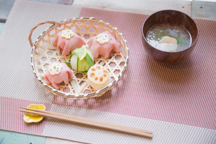 ゆりっぱの趣味を探す旅 #3 色とりどりの手毬寿司レッスン9