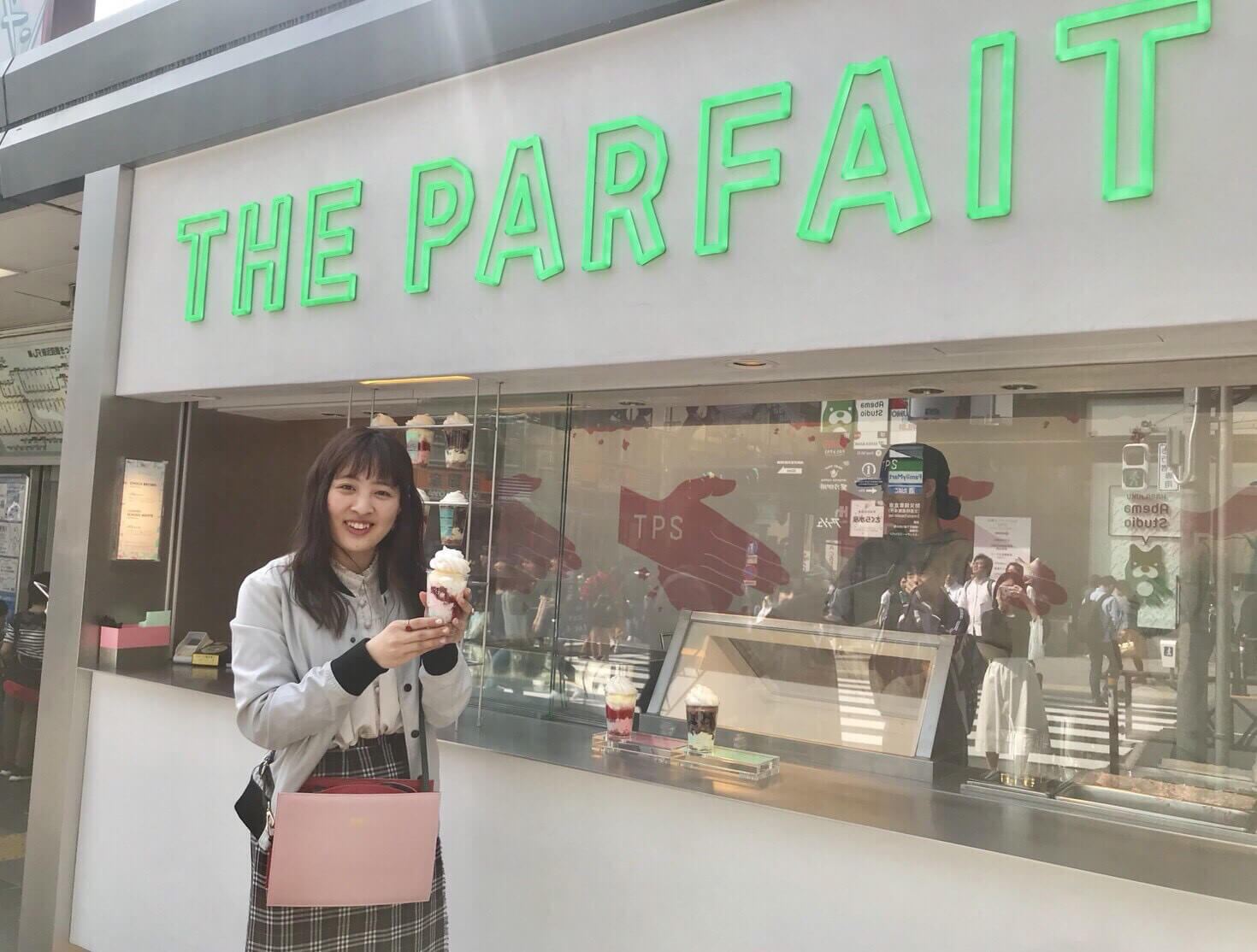 Eat Takeout Parfaits at THE PARFAIT STAND While Strolling Through Harajuku