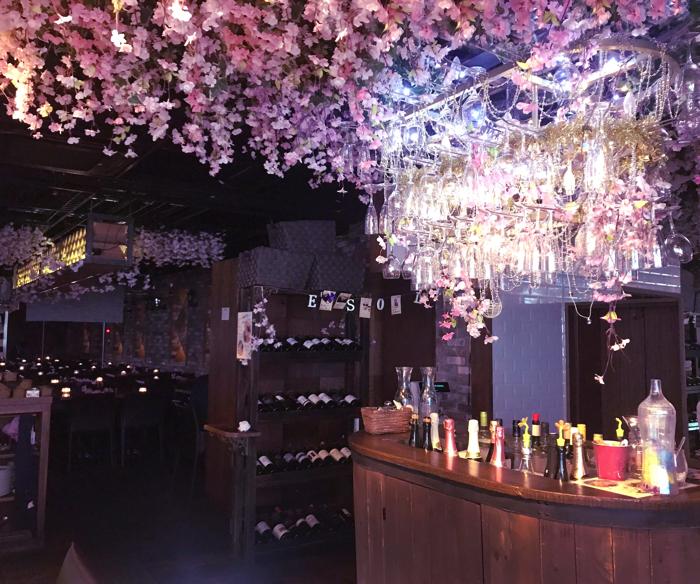 お花見バルESOLA 渋谷「桜キャンドルナイト」