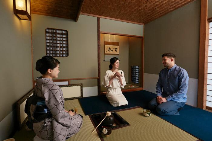 """「高輪 花香路」和室で""""GEISHA""""と遊ぶ体験プラン"""