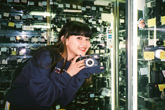 Yuri Suganuma Used Camera Shop Film Shinjuku