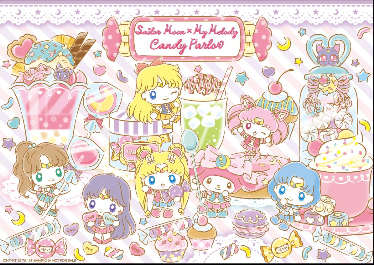 「セーラームーン×マイメロディ キャンディパーラー」福岡パルコ