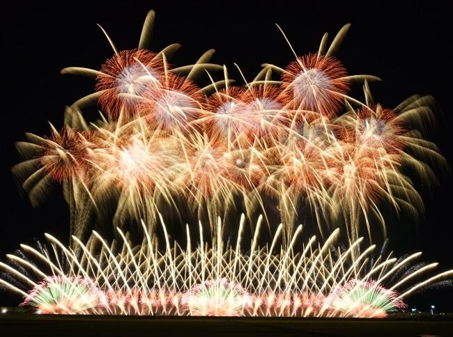 daiba fireworks EDOMODE