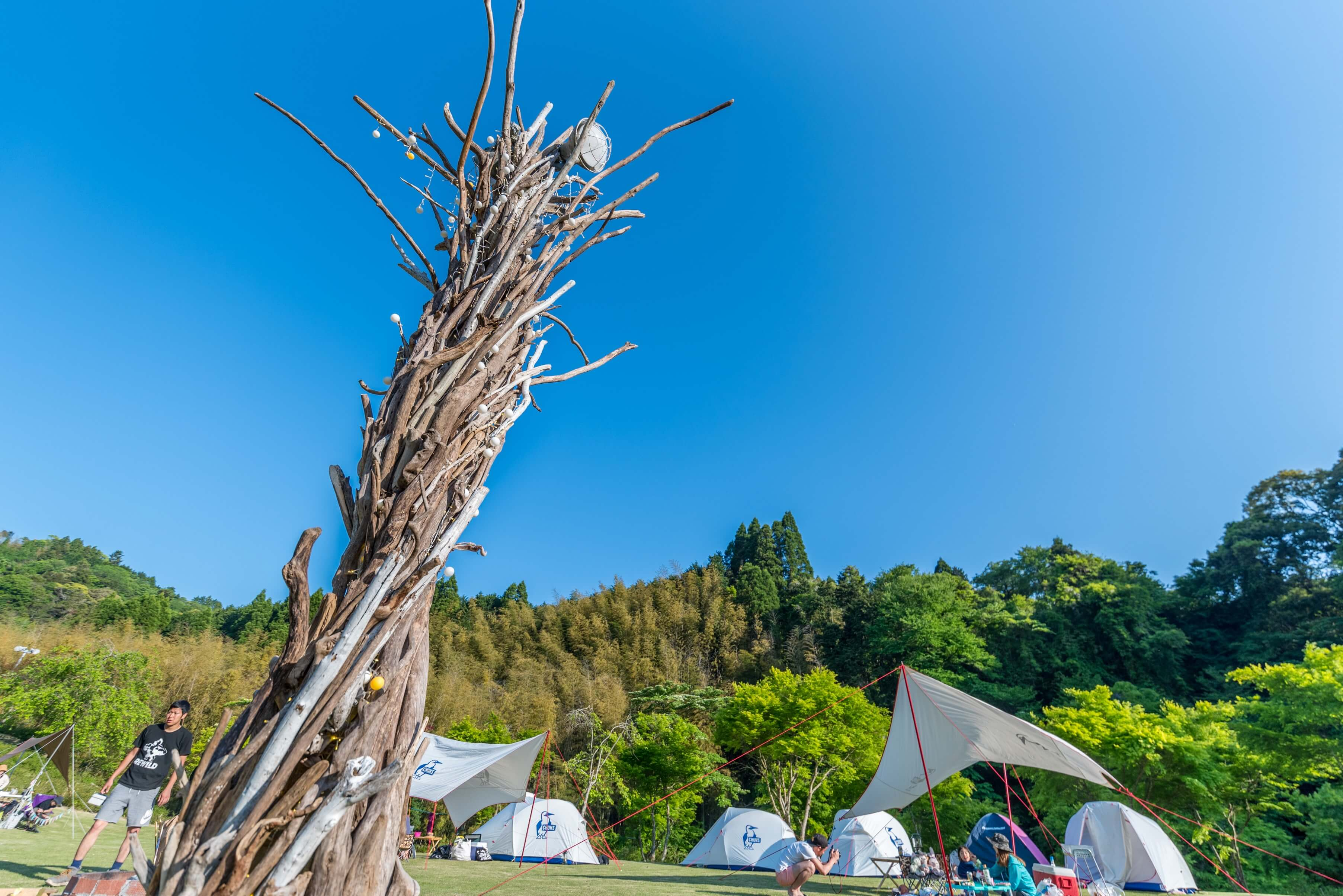 REWILD RIVER SIDE GLAMPING HILL 千葉県2