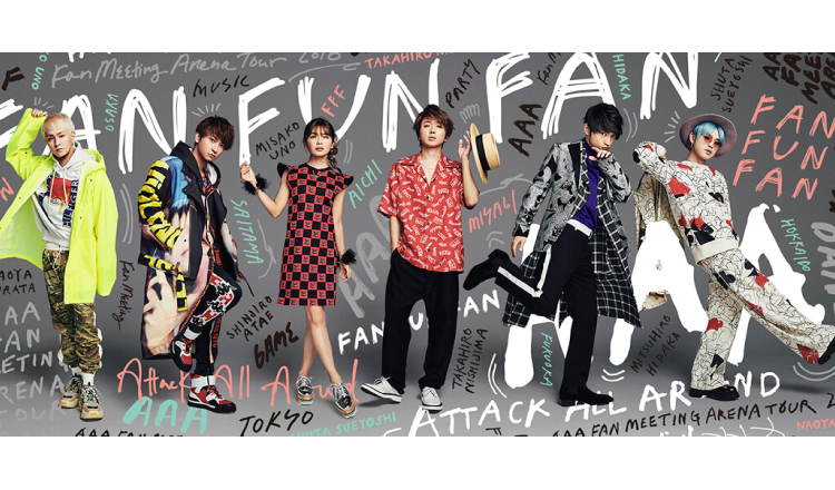 AAA's New Song 'Tomorrow' to be Used as Main Theme Song for Japanese