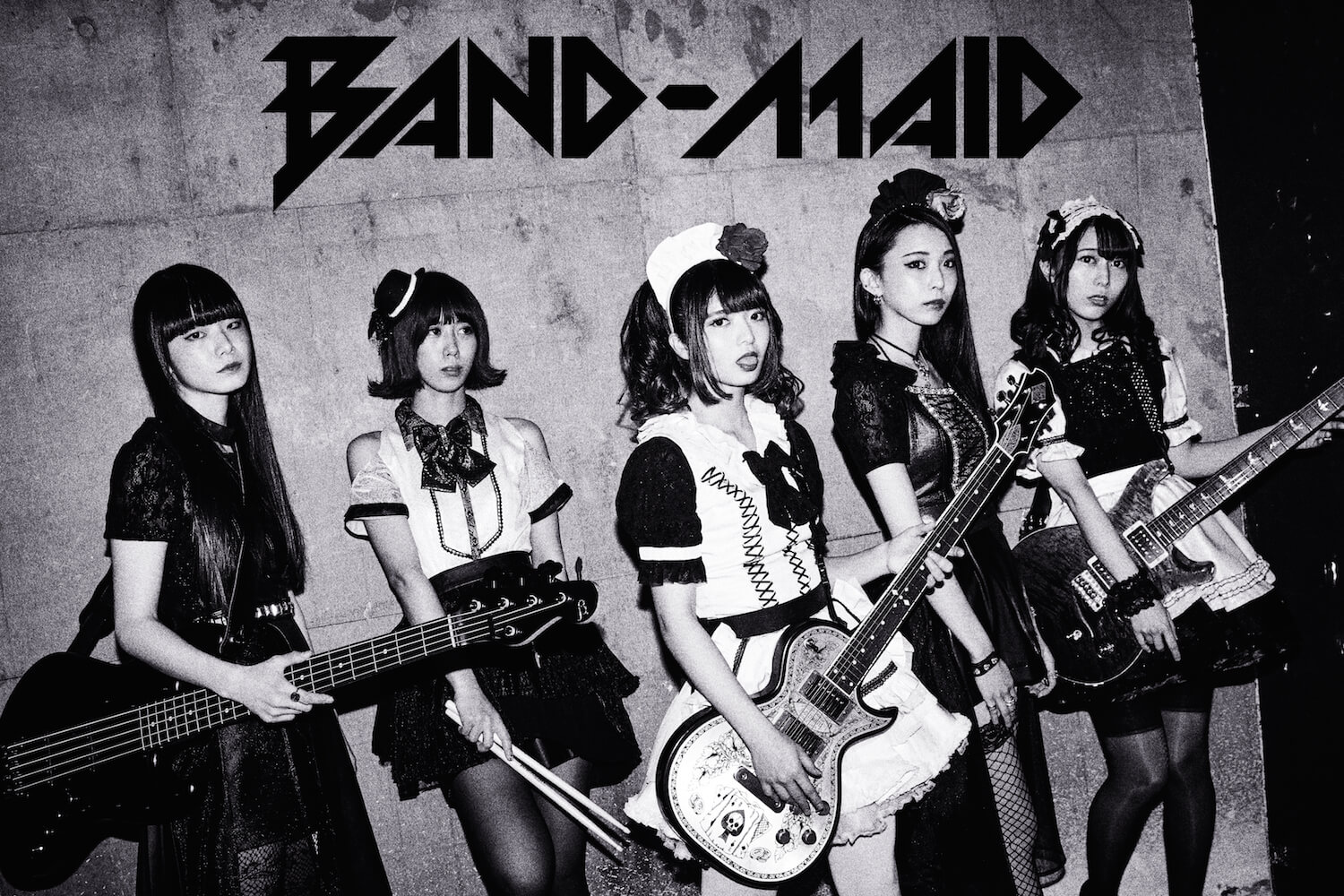 BAND-MAID New Single 'start over' to be Released on July 25