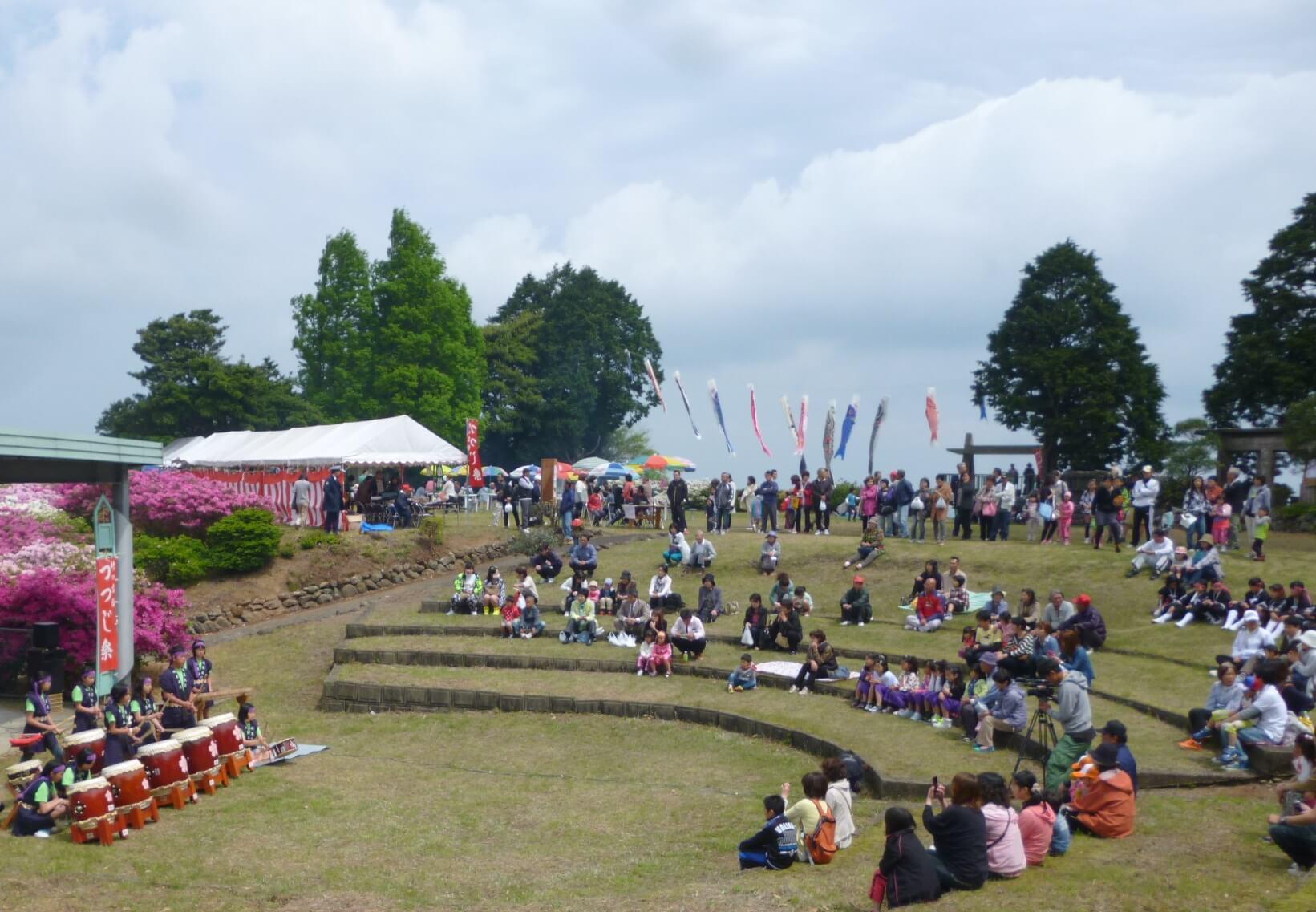 佐賀県伊万里市「つつじ祭り」2