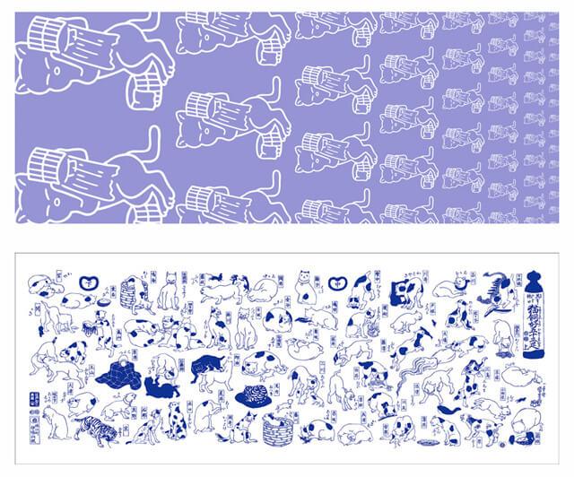 江戸ねこ茶屋 浮世絵世界  JR両国駅西口イベント広場「両国駅広小路」