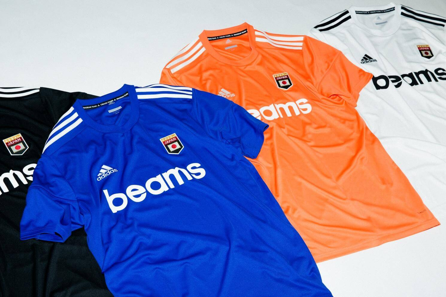 quality design f9bcd 86067 adidas & BEAMS Release Collaborative World Cup Uniforms ...