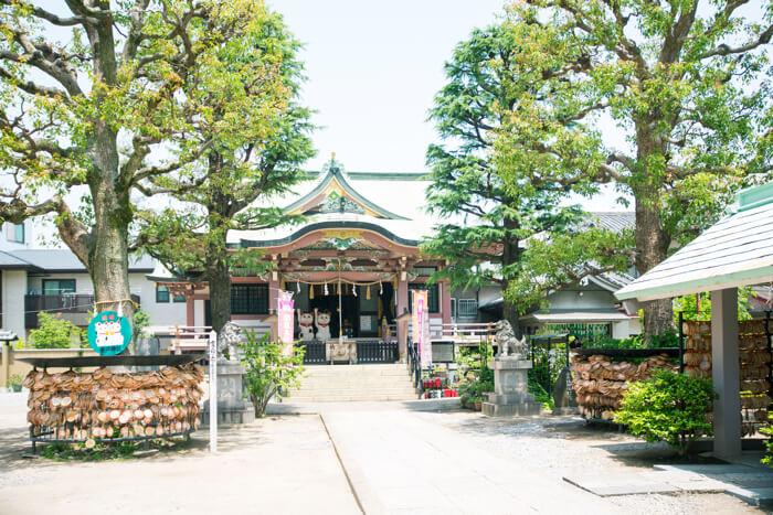 浅草 今戸神社 外観 東京さんぽ