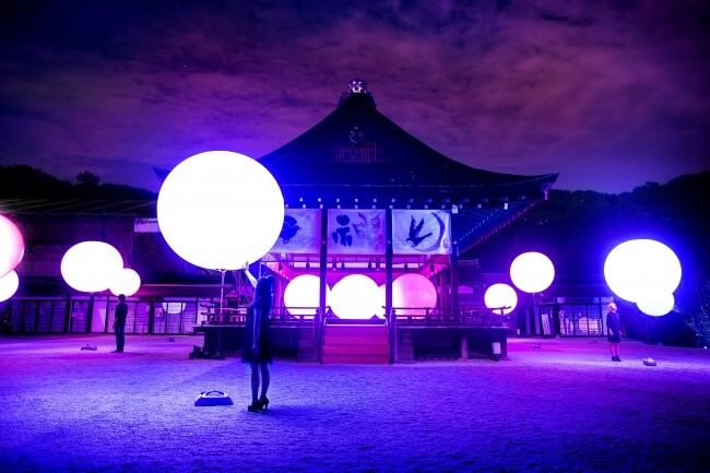 下鴨神社 京都 チームラボ teamlabo kyoto Shimogamo Shrine デジタルアート