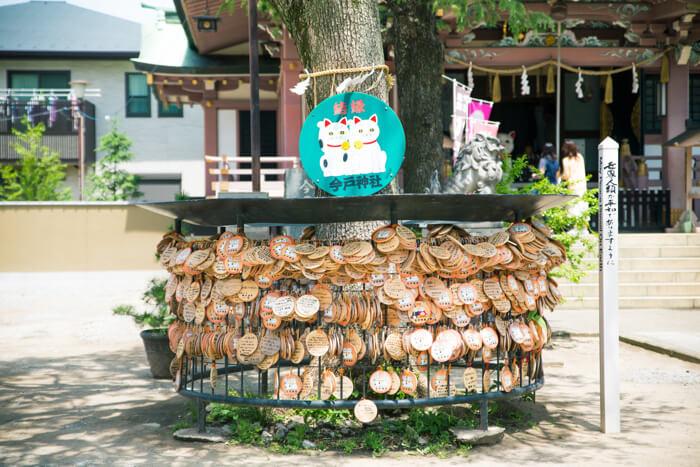 浅草 今戸神社 絵馬 招き猫 東京さんぽ