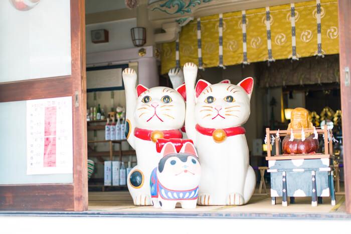浅草 今戸神社 招き猫