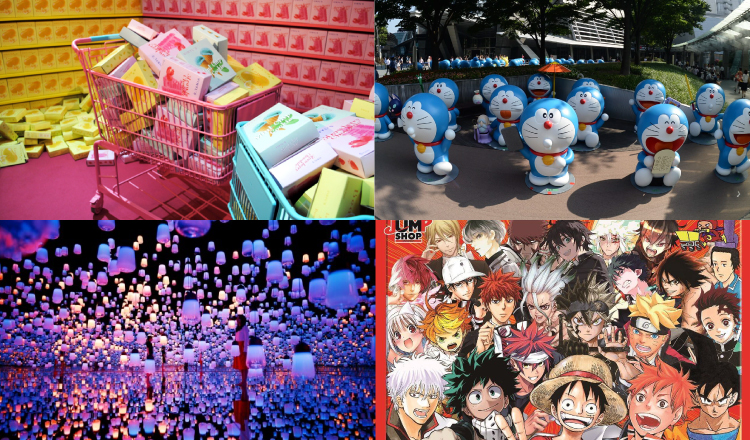 6 recommended events which will be held in July 2018 in Tokyo Area.