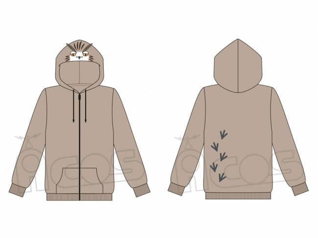 ハイキュー!! 木兎フクロウ hoodie
