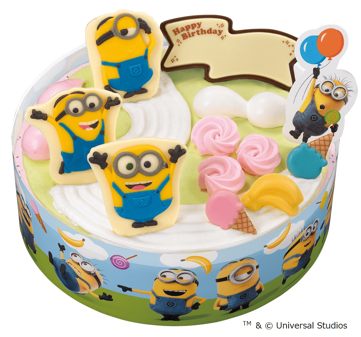 Limited Edition Minions Ice Cream To Be Sold This Summer At Baskin Robbins In Japan