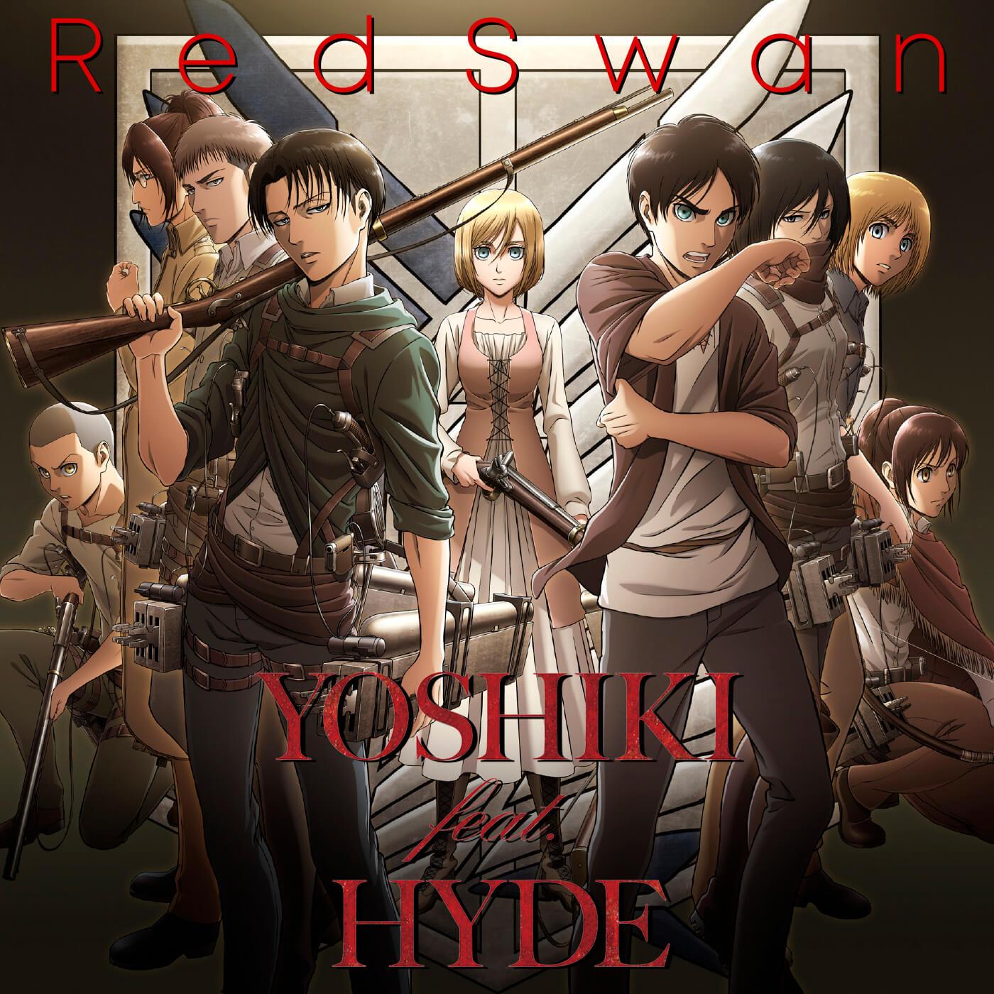 Attack On Titan Season 3 Opening Red Swan By Yoshiki Feat