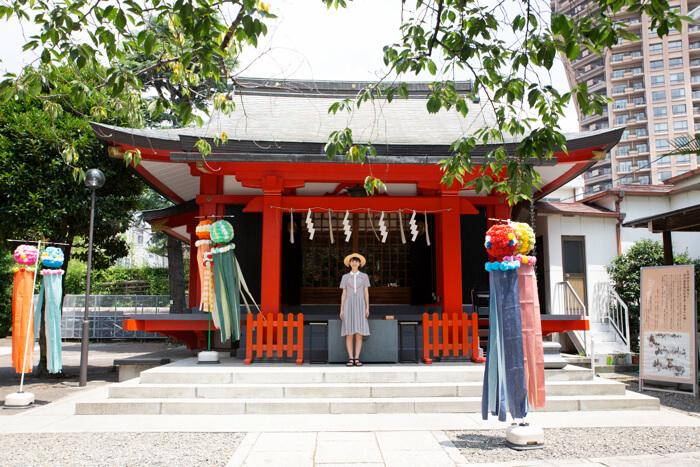 【東京さんぽ】御朱印巡り#8 美少女戦士セーラームーンの聖地、麻布氷川神社へQ0A3063