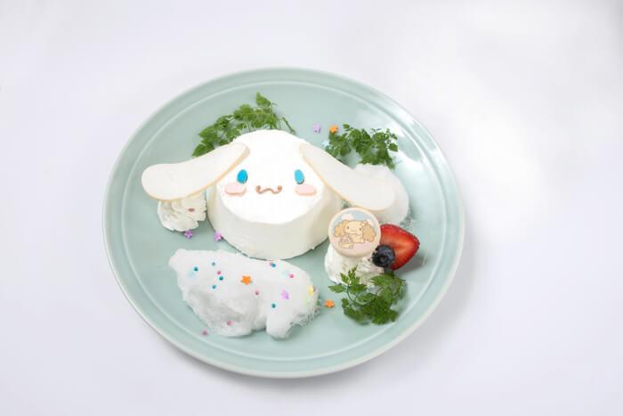 ふわふわ雲のシフォンケーキ