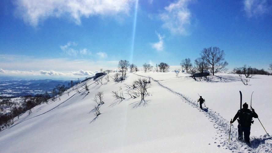 skiing スキー